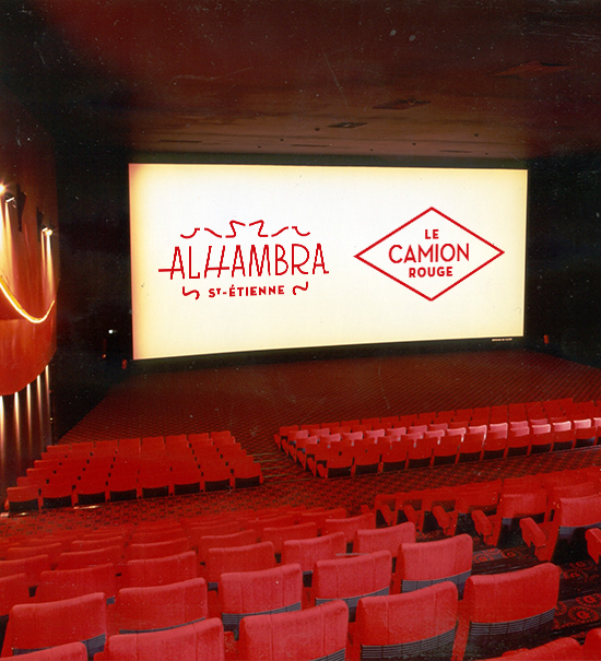 8 x 8 places de cinéma Alhambra ou Camion Rouge